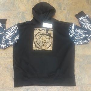 NWT sacred crown streetwear hoodie size 4X